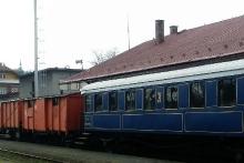 Legionářský vlak v Trutnově