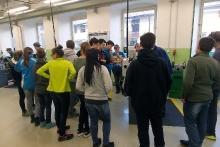 Exkurze žáků ZŠ Úpice-Lány v Mladých Bukách