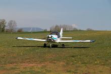 Letecká přeprava materiálu pro kompletaci ochranných štítů