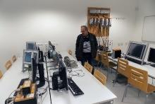 Návštěva učitelů na VUT Brno