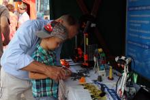 Prezentace SPŠ Trutnov na oslavách 25. výročí elektroprůmyslu v Trutnově