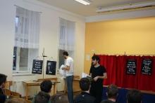 Z představení Divadélka pro školy z Hradce Králové