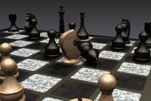 Soutěž v modelování šachů ve 3D