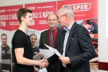 Společnost KASPER KOVO s.r.o. ocenila vítěze soutěže